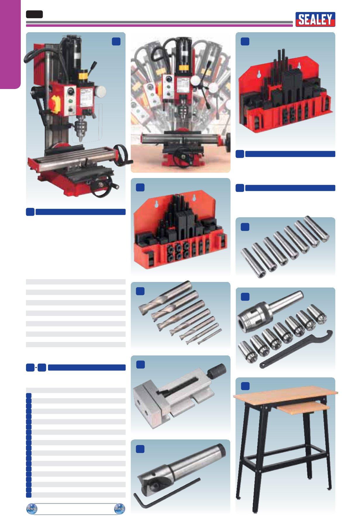 Sealey SM2502 Mini Drilling /& Milling Machine